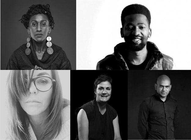 African judges for the ADC Awards: Sarah Waiswa, David Tshabalala, Jenny Ehlers, Fran Luckin, Nathan Reddy.