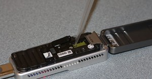 A portable DNA sequencer in action. UGA CAES/Extension/Flickr
