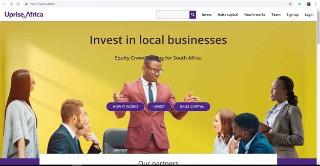 Uprise.Africa scoops the award as the best crowdfunding platform