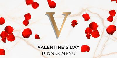 Valentine's Day dinner at Shimmy Beach Club
