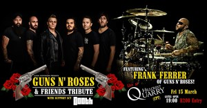 Guns N' Roses drummer to join Jason Oosthuizen's tribute show in Cape Town