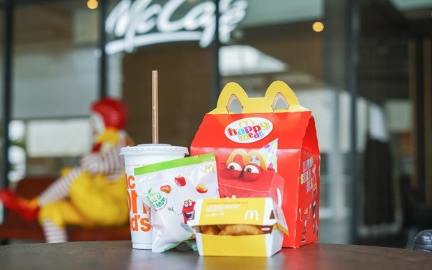 Fast-food chains use cute animal toys to market meat to children - new vegan ranges pose a dilemma