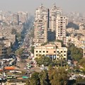People living in run-down, inner city apartments, like these in Cairo, are at risk of heat-stress health problems. Shutterstock