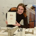 NMU's Riaan Huiskens takes regional Corobrik Architectural Student of the Year Award