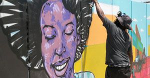 Philippi Village mural helping to build trust and hope in a fractured community