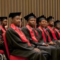 The Master of Science in Global Health Delivery Class of 2018. Photo by Jean Christophe Kitoko for UGHE