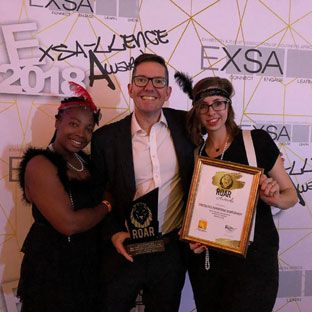 Celebration as leading exhibition organiser wins four industry awards