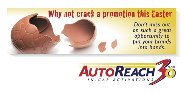 Why not crack an in-car activation with AutoReach this Easter