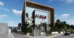 Rendering of the Four Points by Sheraton Monrovia