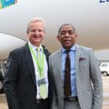Mike Brown, Nedbank CEO and Vuyani Jarana, CEO: SAA