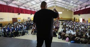 Brand South Africa 'Play Your Part' Ambassadors inspire Cape Town learners