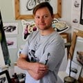 Q&A with Steve Erwin - where art and cars meet