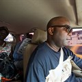FrontPageAfrica publisher Rodney Sieh, pictured on his release from prison in November 2013. Sieh says journalists in Liberia continue to face threats and harassment for their critical reporting. (CPJ/AP/Mark Darrough).
