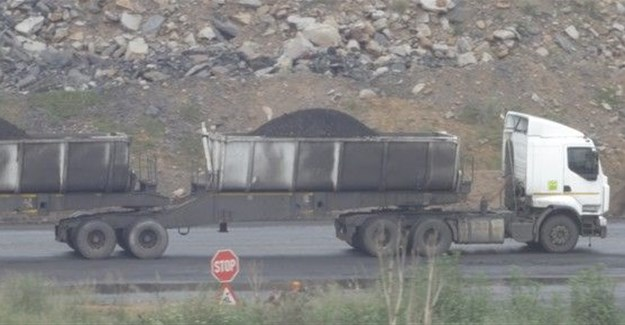 Thousands of trucks deliver coal each day to Eskom and to railway sidings for export. Photo: Katlego Phore