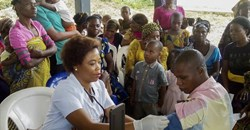 Nigeria was quick to respond and control the 2014 Ebola outbreak. EPA