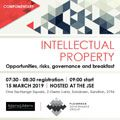 JSE business breakfast will focus on intellectual property governance