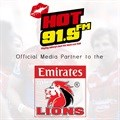 Hot 91.9FM set to roar with the Emirates Lions