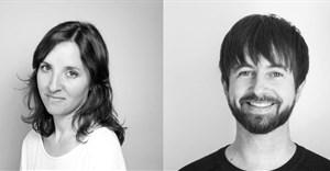 Typeface designers María Ramos and Noel Pretorius.