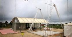 Zipline drone distribution centre, Rwanda.