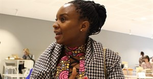 Filmmaker Wanuri Kahiu in conversation with Terry Levin and Louise Marsland. © .