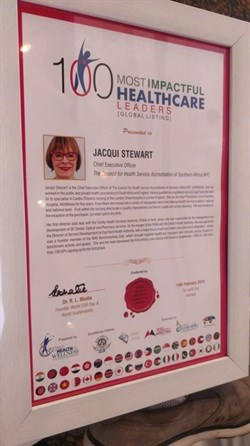 Cape Town health leader chosen as among 100 most impactful health leaders on global list