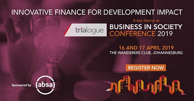 Innovative finance for development impact a key focus at The Trialogue Business in Society Conference 2019