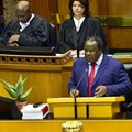 Minister of finance, Tito Mboweni delivering his budget speech for 2019. © .