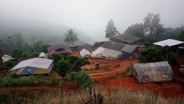Remote mountain villages face difficult access to healthcare. Patchapoom U-thong