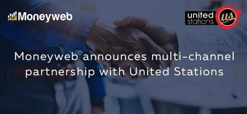 Moneyweb announces multi-channel partnership with United Stations