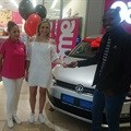 Miles of smiles for car winner at Game