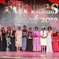 Award winners at the 2019 Forbes Woman Africa Awards. © GABHISATV.