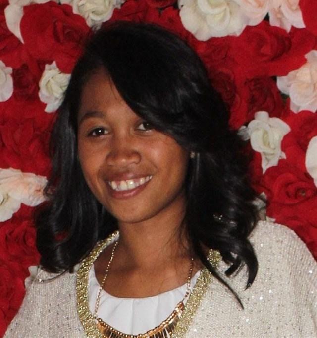 Journalist, Andriatsitonta Mamy Ny Aina Lynda, from Madagascar.