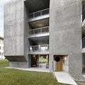 Gus Wüstemann Architects completes concrete affordable housing in Zurich