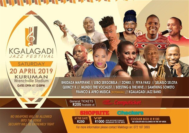 Zonke, Feya Faku and more will headline 2019 Kgalagadi Jazz Fest