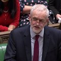 Britain's opposition Labour Party leader Jeremy Corbyn in Parliament on March 14, 2019. Corbyn called for the Brexit referendum in 2016 – expecting it to fail. Reuters TV via REUTERS