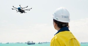 Airbus trials shore-to-ship drone deliveries