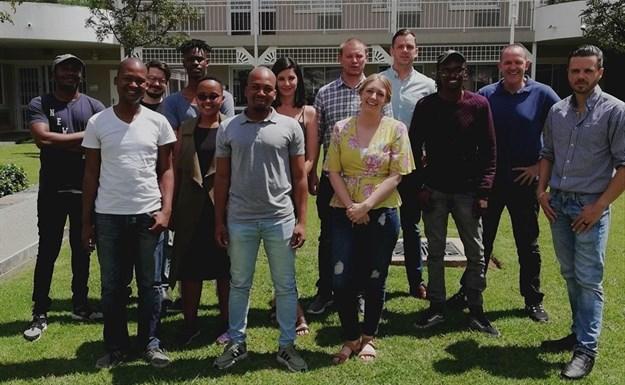 The team at Algorithm Agency