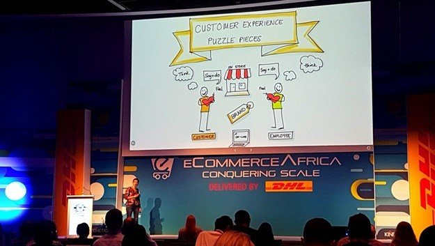 Chantel Botha of BrandLove in action at eCommerce Africa 2019.