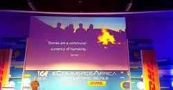 Mike Joubert of the Billybo Group, in action on the eCommerce Africa 2019 stage.