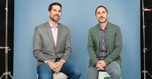 Brian Whipple of Accenture Interactive and David Droga of Droga5. Image courtesy of Accenture Interactive.