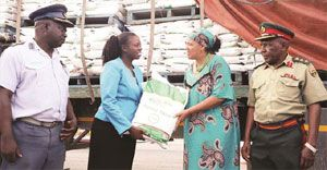 Alliance Media donates 30t maize-meal to cyclone victims