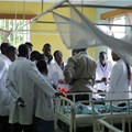 Doctors at a hospital in Kisumu, Kenya. Shutterstock