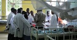 Doctors at a hospital in Kisumu, Kenya. Shutterstock