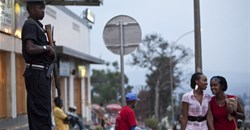 Security is tight in Rwanda's authoritarian state. Charles Shoemaker/EPA