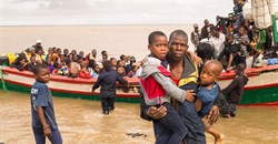 Mozambique rescue mission after devastating Cyclone Idai, March 2019.