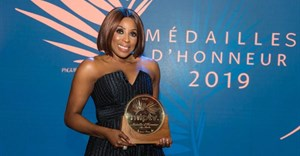 Mo Abudu receives medal of honour at MIPTV Cannes