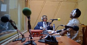 A radio station is seen in Bujumbura, Burundi, on March 19, 2015. Burundi authorities recently banned the BBC and suspended VOA from broadcasting within the country. Source: CPJ.