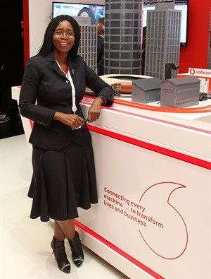 Takalani Netshitenzhe, chief officer for Vodacom Group Corporate Affairs