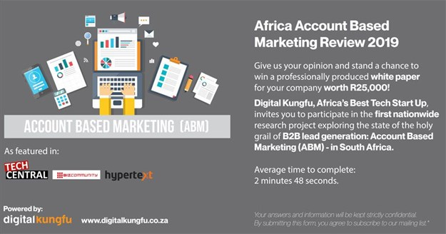 The Africa Accounts-Based Marketing (ABM) Review 2019 - Powered by Digital Kungfu