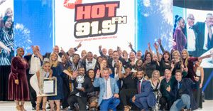 Hot 91.9fm takes Station of the Year for the third consecutive year!